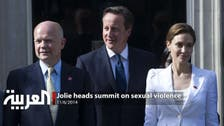 Jolie heads summit on sexual violence