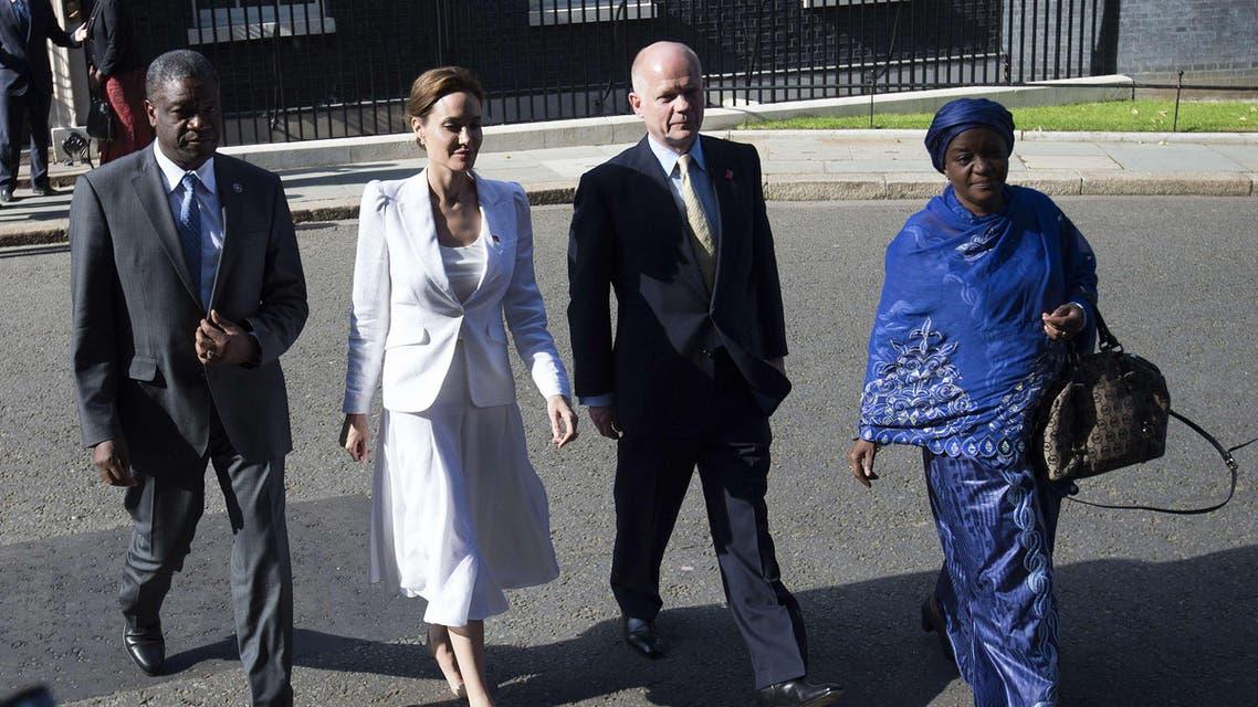 Jolie heads summit on sexual violence