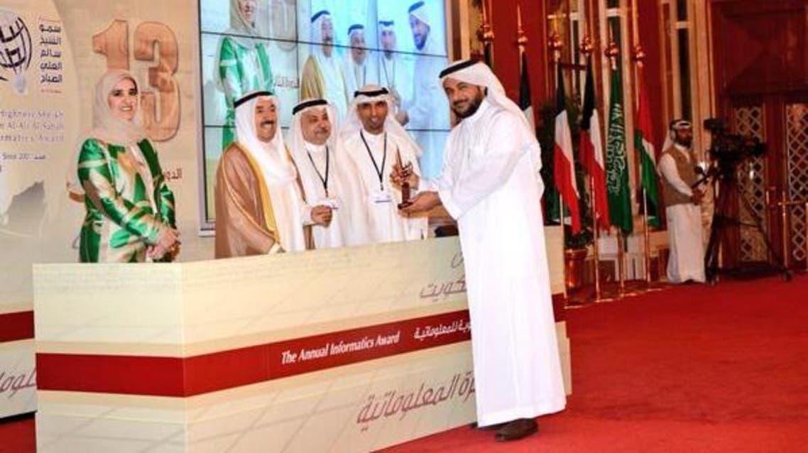 أمير الكويت يكرم أ.د.طارق الحبيب في جائزة أفضل مغرد عربي