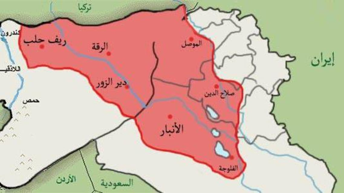 حدود داعش إيران العراق سوريا