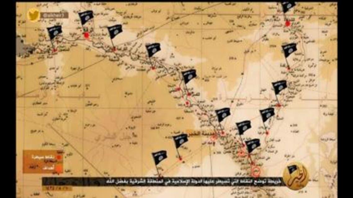 """دير الزور في خطر...ناشطون .. """"داعش"""" تحشد أرتالاً ضخمة آتية من الموصل"""