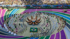 World Cup kicks off in style as stadium shines