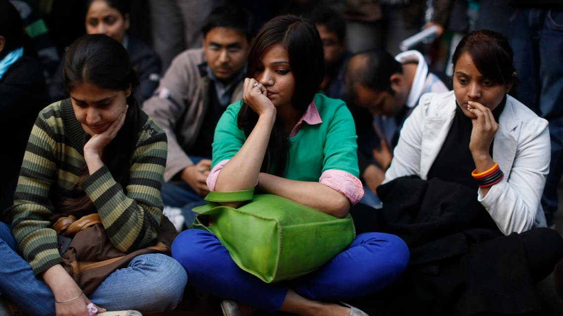 Demonstrators take part in a protest for a gang rape victim. (File photo Reuters)