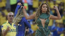 Jennifer Lopez dances on World Cup stage in Lebanese-designed playsuit