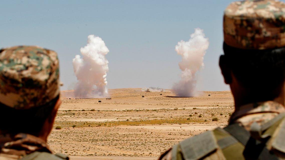 Jordanian soldiers Reuters