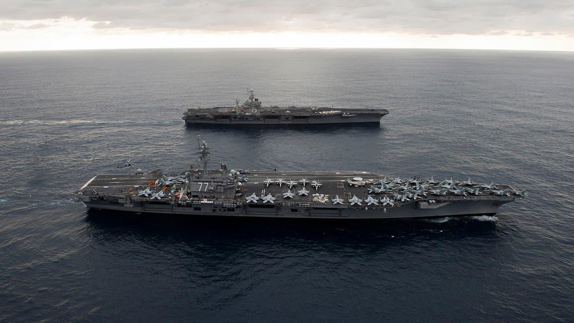 Reuters USS George H.W. Bush Reuters