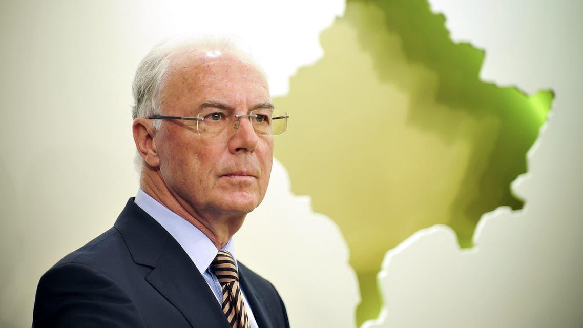 Franz Beckenbauer AFP