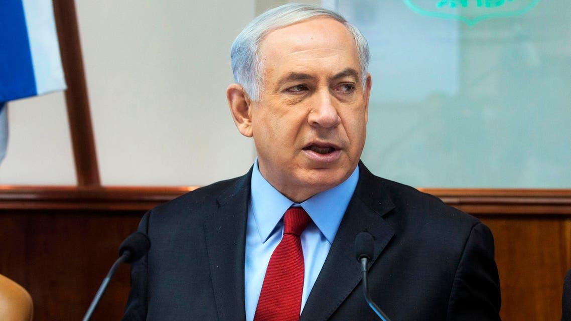 Israel's Prime Minister Benjamin Netanyahu attends the weekly cabinet meeting at his office in Jerusalem June 8, 2014. (Reuters)