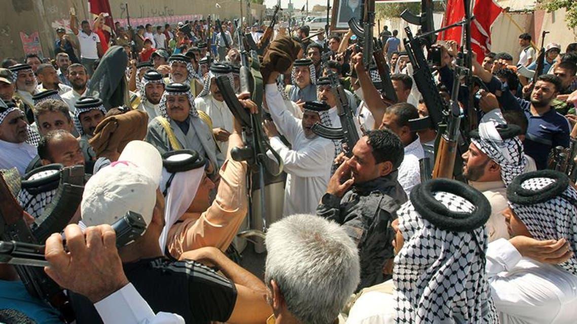 عشائر تنضم لقوات الجيش والشرطة في الحرب على داعش في العراق