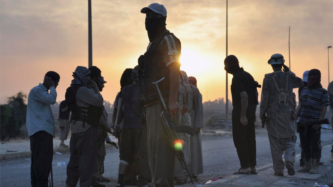 ISIS fighters reuters