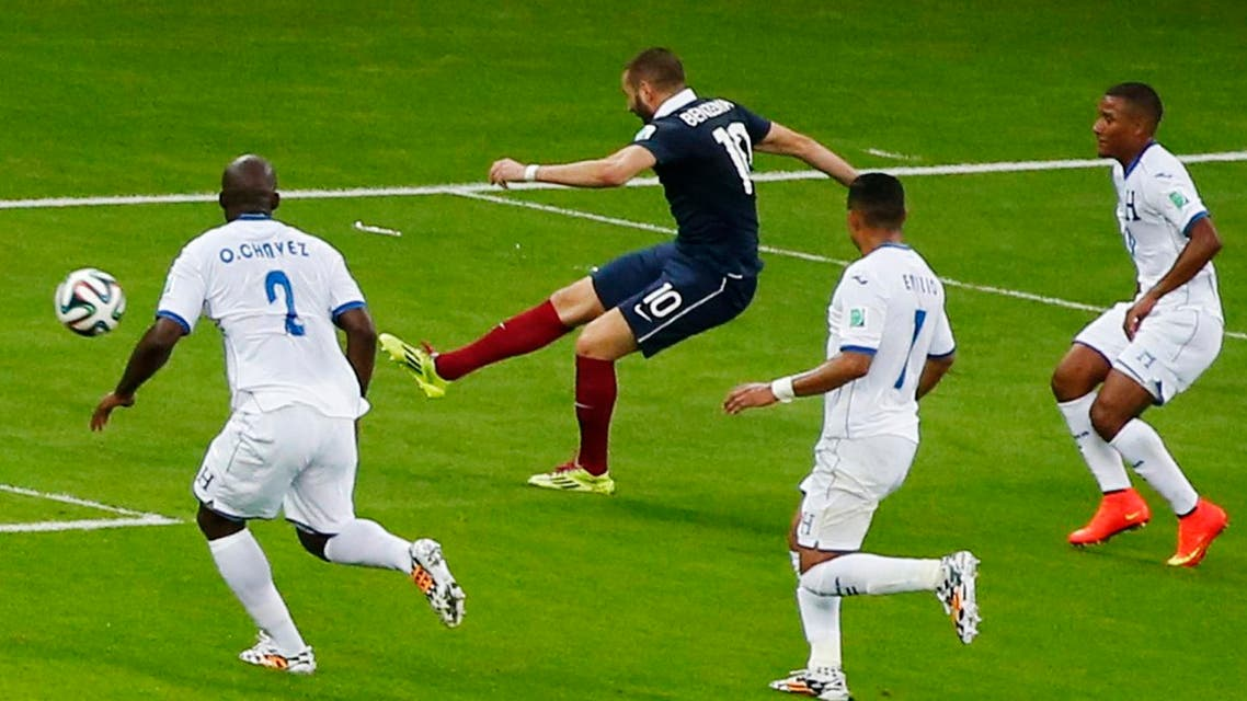 فرنسا وهندوراس