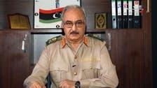 اللواء حفتر يرحب بتعيين البرلمان رئيسا جديدا للأركان