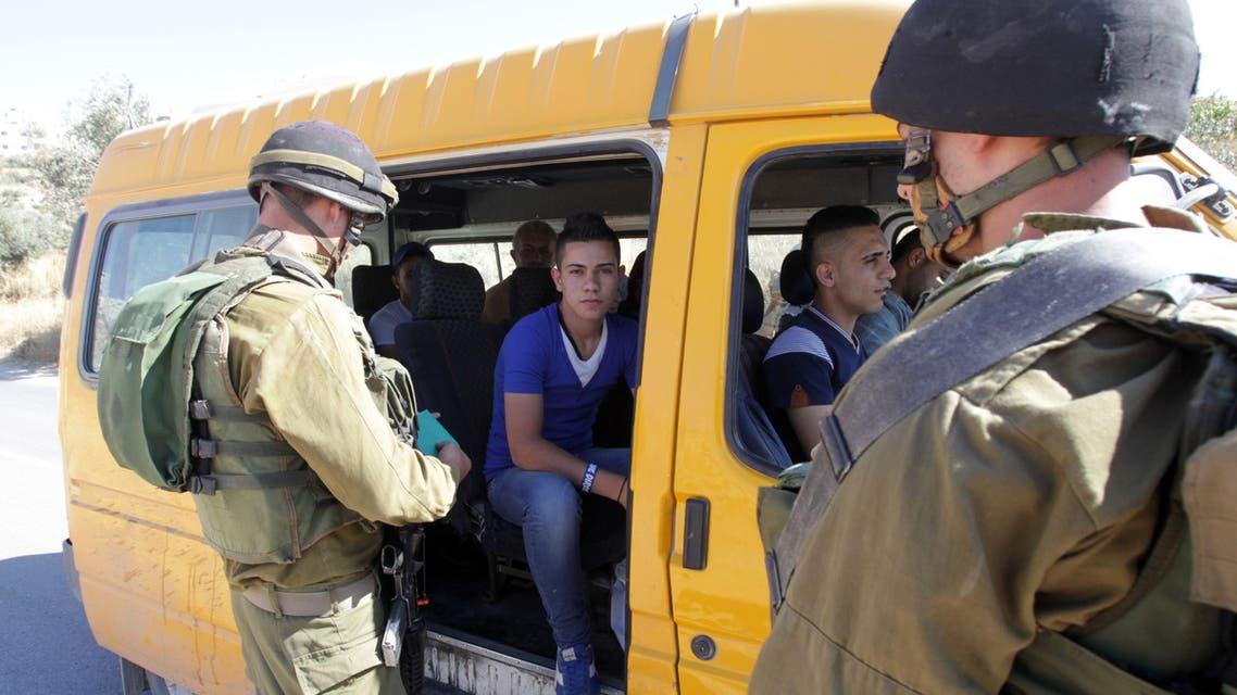 Israel Palestine West Bank AFP