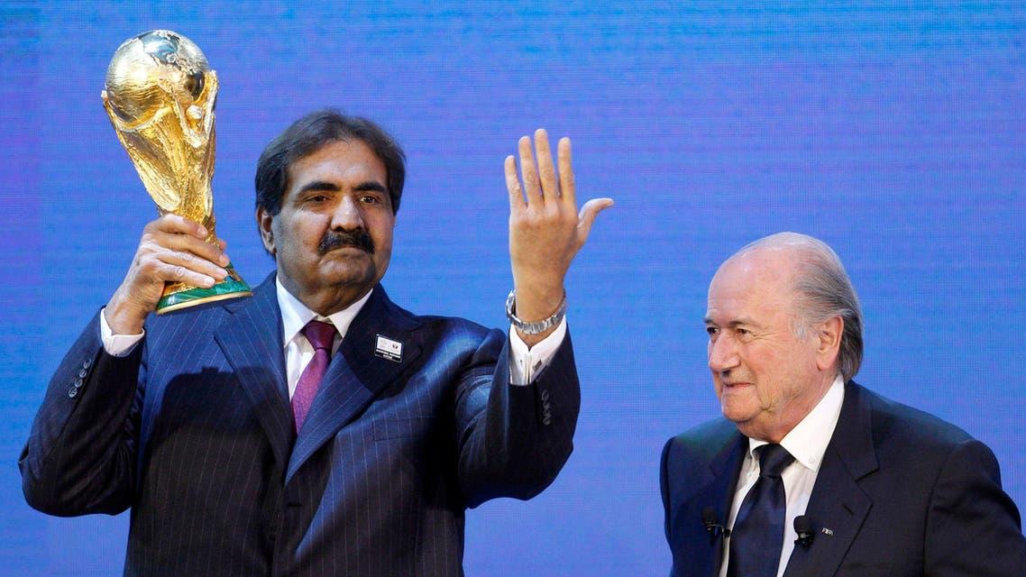 Qatar emir Blatter Reuters