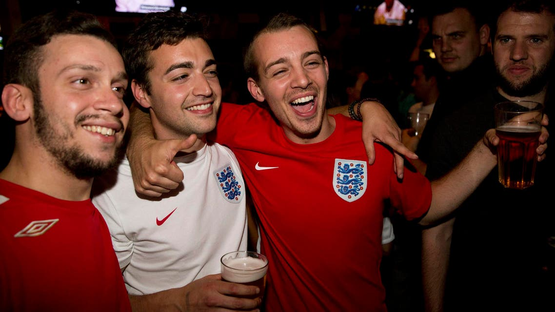 يخسر المنتخب .. لكن لندن لاتترك الانجليز حزانى