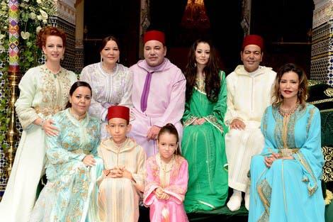 العائلة المالكة في المغرب