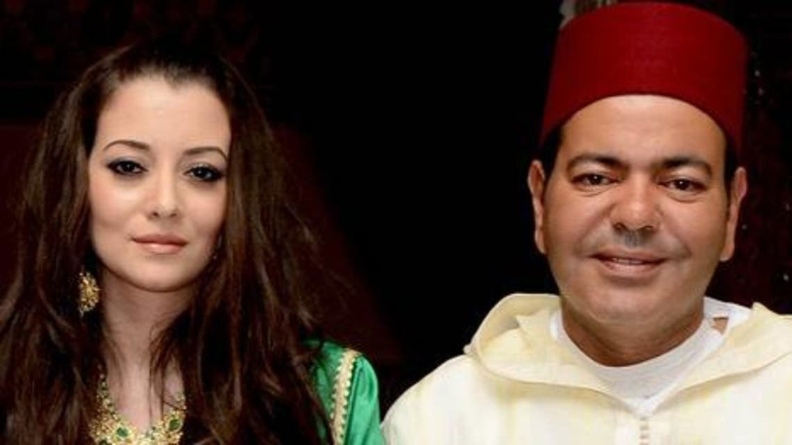 الامير رشيد مع عروسه في المغرب