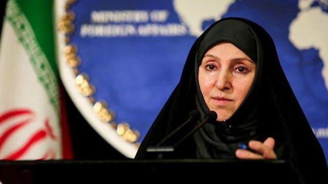 المتحدثة باسم وزارة الخارجية الإيرانية مرضية افخم