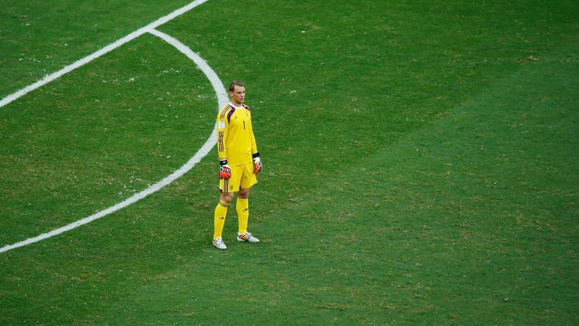 """نوير بلحظة """"بطالة مقنّعة"""" أمام البرتغال"""