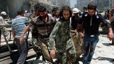 Activists: 20 dead in Syria barrel bomb attack in Aleppo