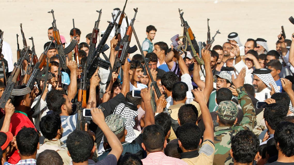 iraq volunteer fighters reuters