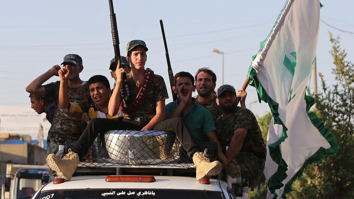 Iraqi Shiite Militia AFP