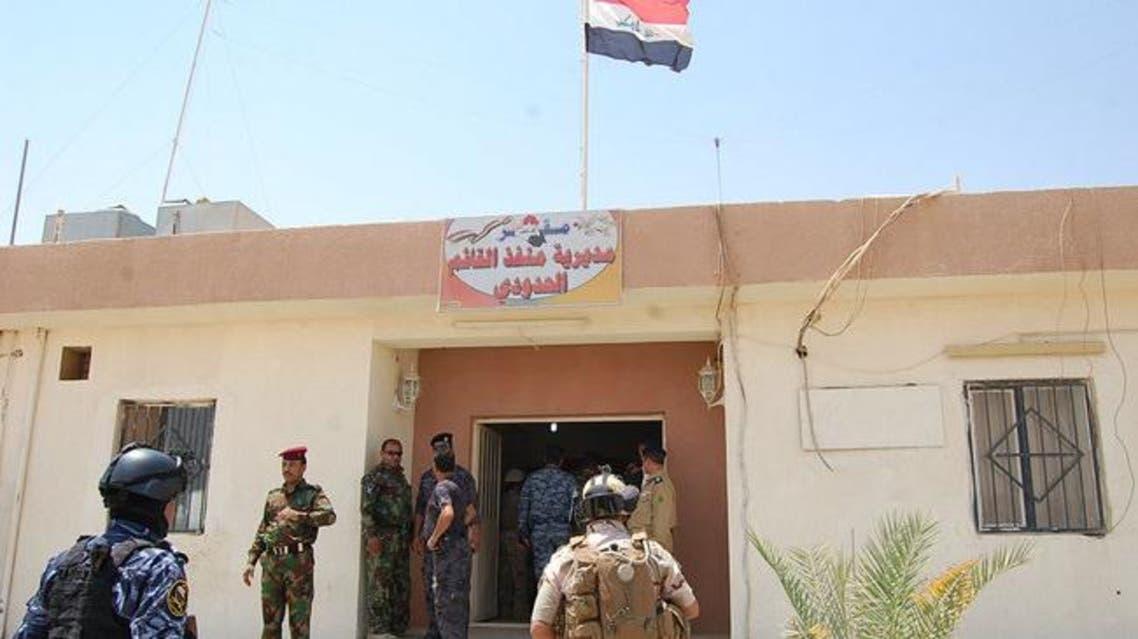 منفذ معبر القائم الحدودي سوريا و العراق