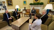 أوباما وزعماء الكونغرس يستعرضون الخيارات في العراق