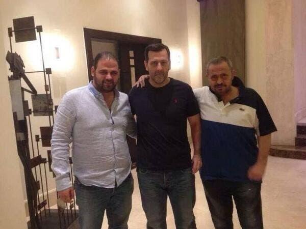 ماهر الأسد يتوسط جورج وسوف ونجله