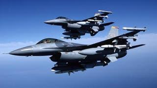 طائرات مقاتلة أميركية تحلق في سماء العراق