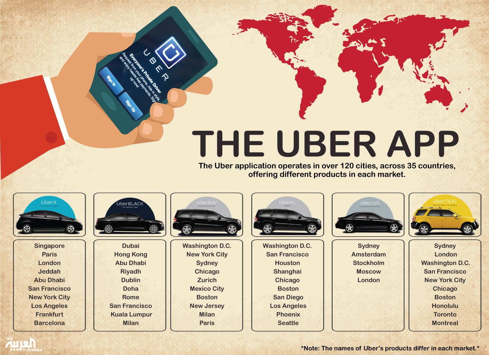 Uber Cars List Egypt >> Controversial Uber Taxi App Thrives As Limousine Service In Mideast