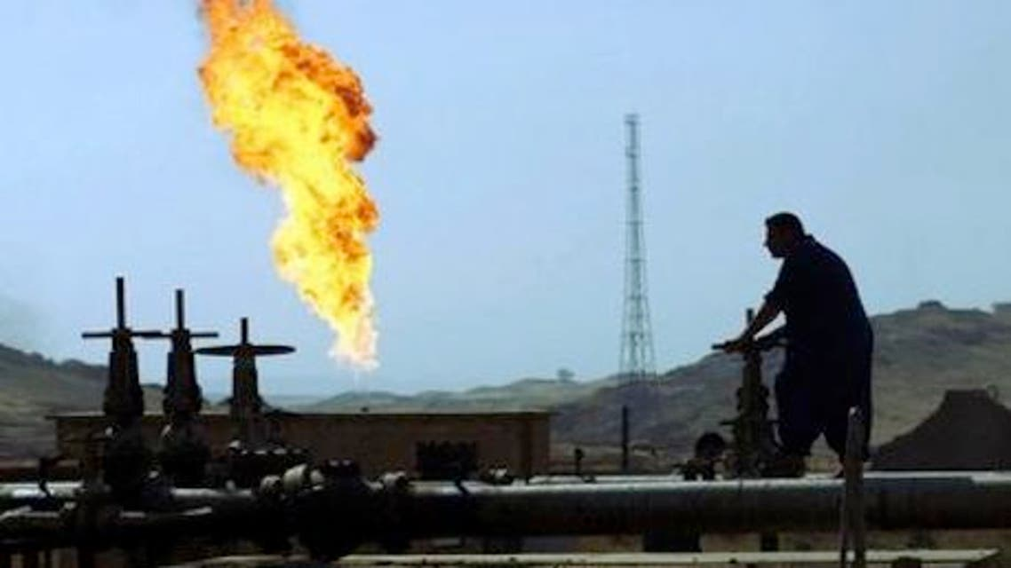 An exact estimate of the volumes of crude being trucked to Iran is unknown, but reports place it at about 30,000 barrels per day. (File photo: AFP)