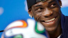 Italy's Mario Balotelli requests 'a kiss from the Queen'