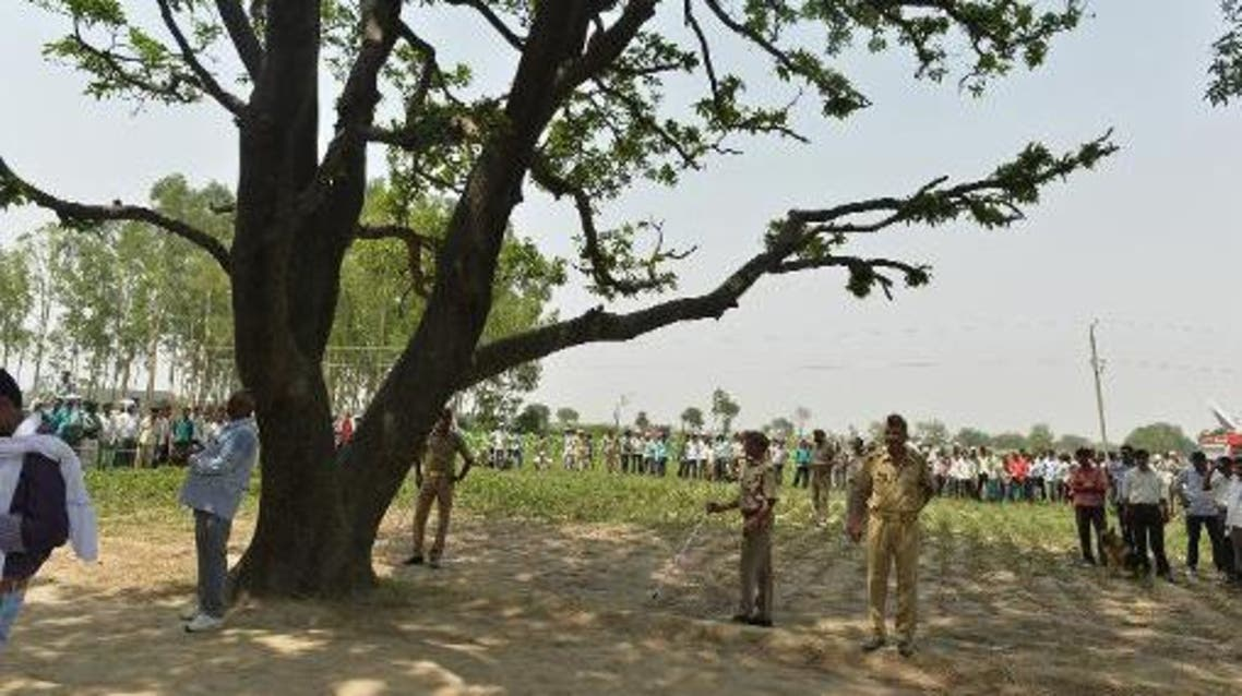 Last month, a similar case of rape was recoded in India, where a teenager was raped and hanged from a tree. (AFP)