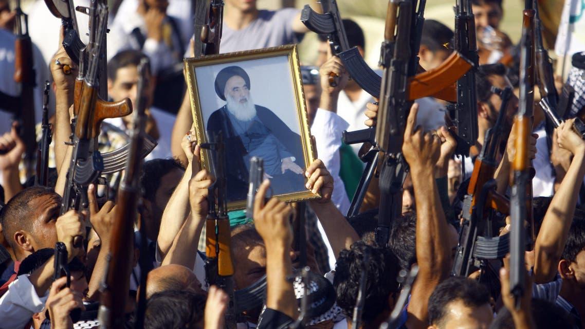 Grand Ayatollah Sistani AFP