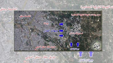 لماذا القتال حول المليحة بين قوات النظام والثوار؟
