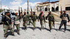 Syrian army fights rebels in key Damascus hills