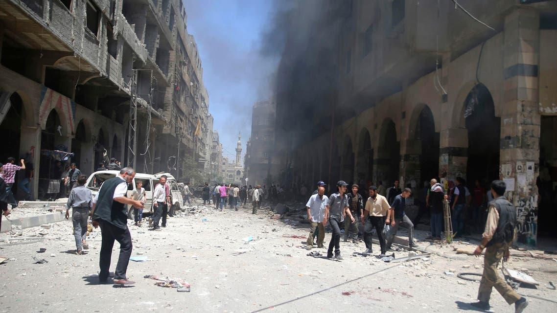 قصف على ريف دمشق