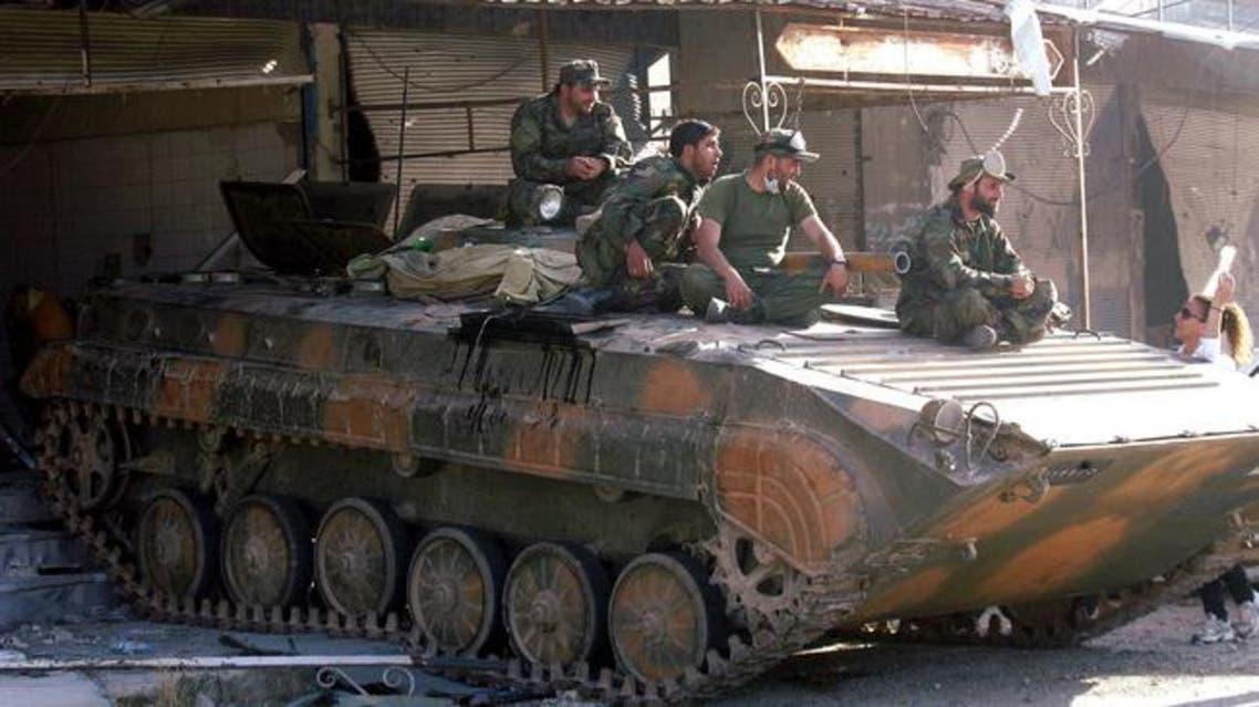 قوات الاسد السورية سوريا جيش الجيش السوري
