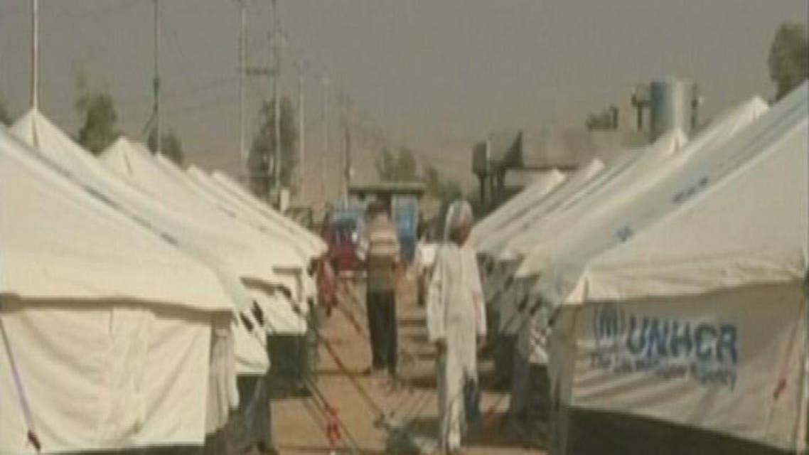 THUMBNAIL_ مخيما خانقين وكلك يستقبلان نازحي العراق