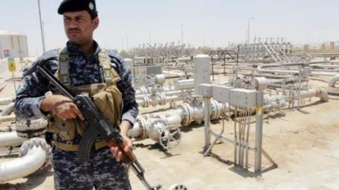 حقل نفط جنوب العراق