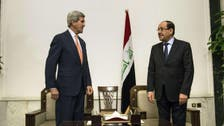 Kerry confronts threat of new war in Iraq