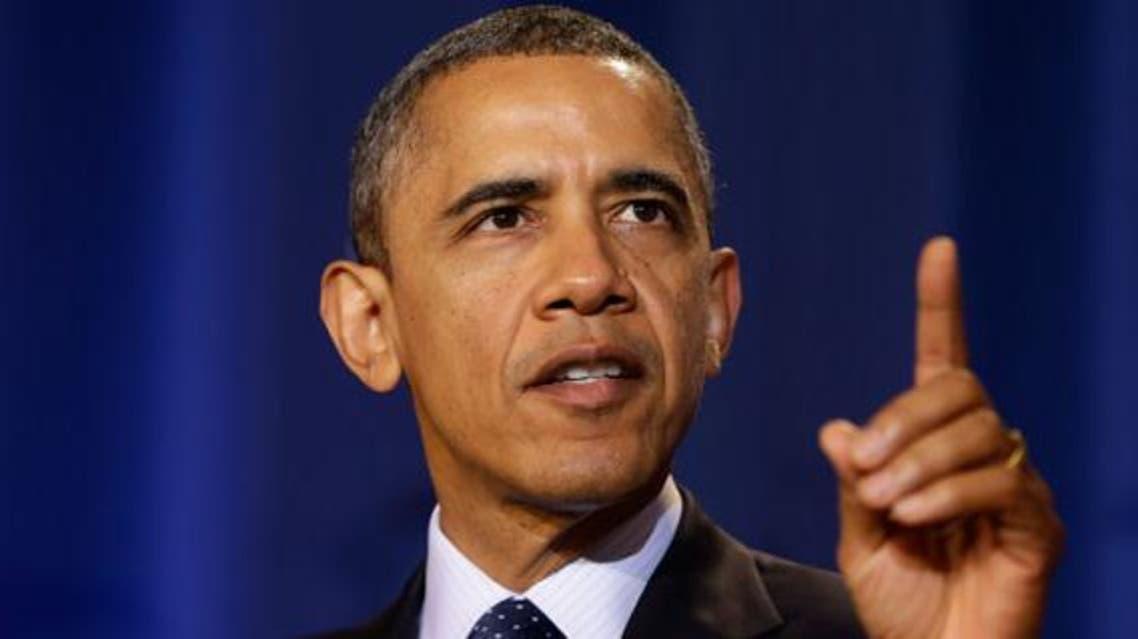 باراك أوباما الحدث