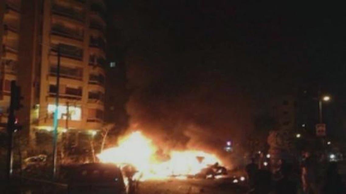 تفجير في لبنان