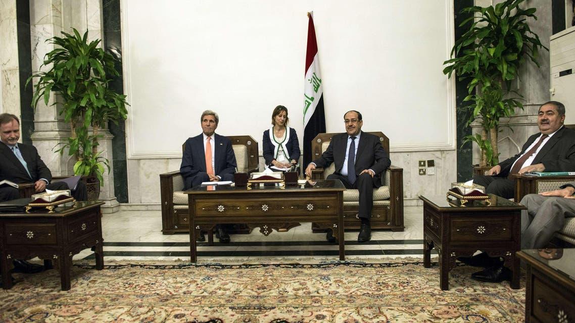 U.S. Secretary of State John Kerry's visit to Iraq