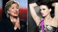 Katy Perry offers to write Clinton's 'theme song'