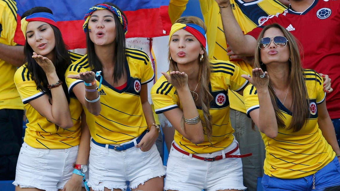 قبلات لمن منح الكولومبيين 9 نقاط