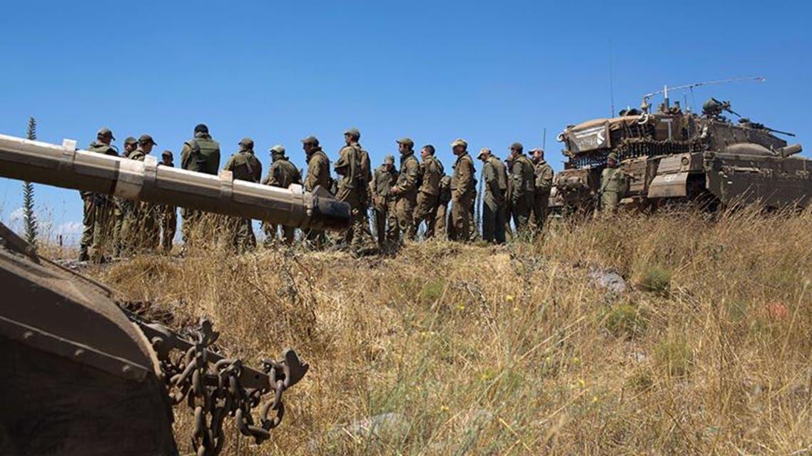 قوات الجيش الاسرائيلي مستنفرة في الجولان