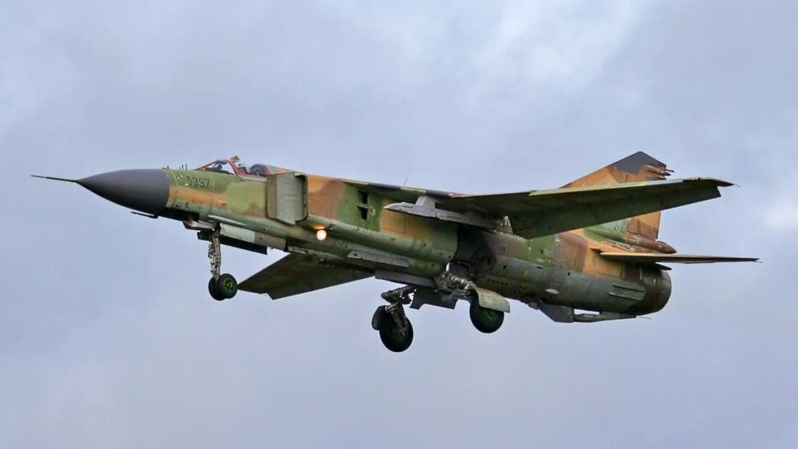 طائرة ميغ 23 في سوريا