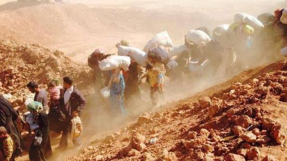 housands of Syrian families flee into neighboring Jordan (UNHCR A.Harper)